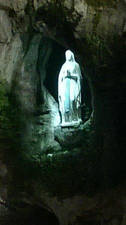 Sanctuaire Notre Dame de Lourdes : La Madonnina