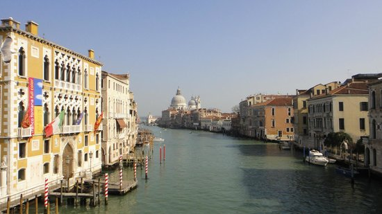 Ponte dell'Accademia: views from the bridge
