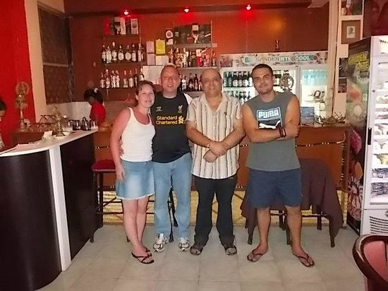 Gajanana/Dolce Vita Restaurant & Bar : Very Friendly Staff & Great Food