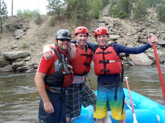 Awesome day rafting with Mad Adventures