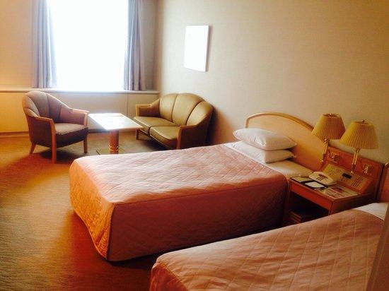 Sapporo Park Hotel : ツインルームの一人使用プラン