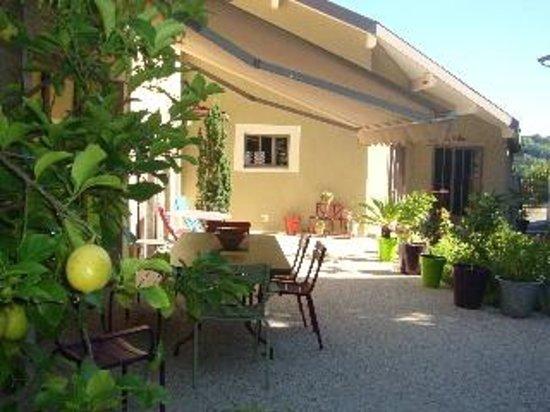 Chez l'Antiquaire : terrasse