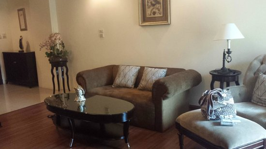 LK Royal Suite: Lounge Area