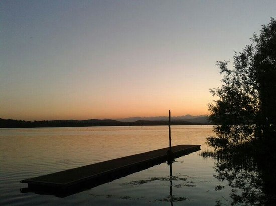 Relais sul Lago: Atmosfere da sogno...