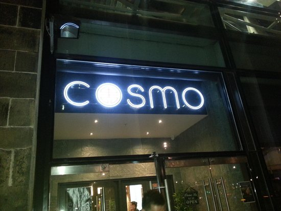 Cosmo By Night Picture Of COSMO Edinburgh Edinburgh TripAdvisor