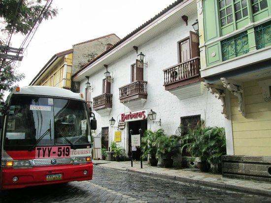 Intramuros: カサマニラの裏手。