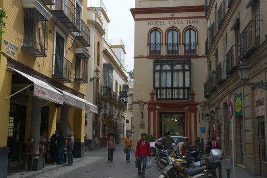 Hotel Casa 1800 Sevilla: Entrée de l'hôtel