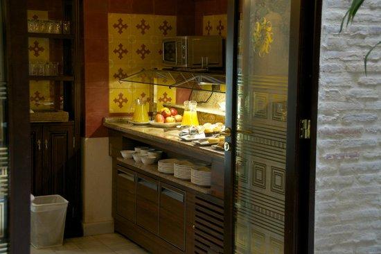 Hotel Casa 1800 Sevilla: Tea-time entre 16h30 et 18h30