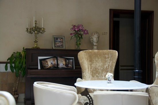 Hotel Casa 1800 Sevilla : Patio commun