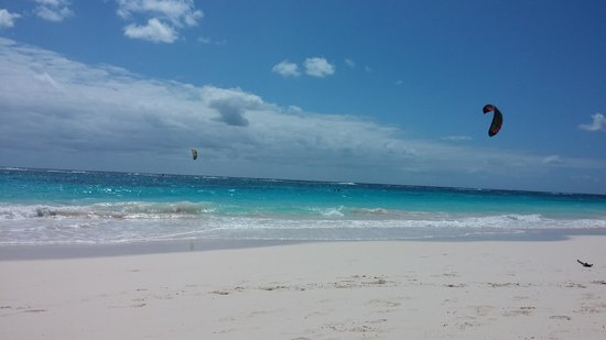 Elbow Beach, Bermuda: Elbow Beach - our last day :-(