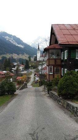 Travel Charme Ifen Hotel: Hirschegg: just near the hotel