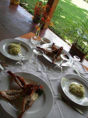 EMTH Majunga : Repas possibles sur place en réservant à l'avance