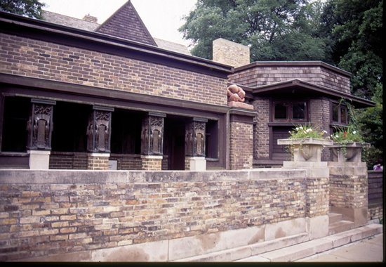 Frank Lloyd Wright Home and Studio: ingresso