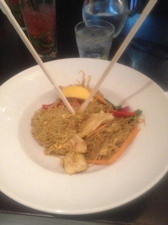 Yee Rah Wok & Grill: Really bad, bland main!
