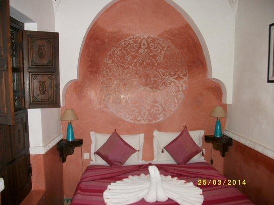 Riad Itrane: Chambre du rez