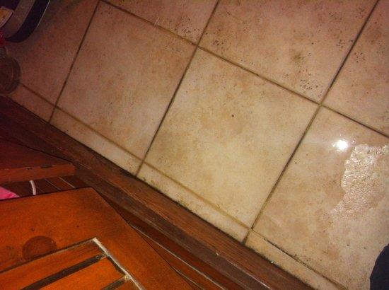 Ocean Club Hotel: Water leak