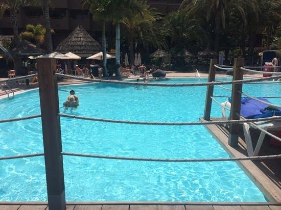 IFA Continental Hotel : best spot for sunbathing on the deck