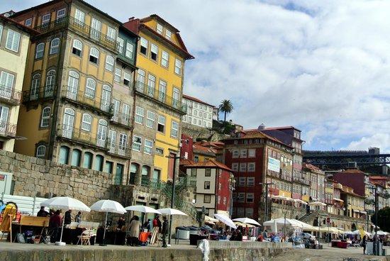 Pestana Vintage Porto: Uferpromenade