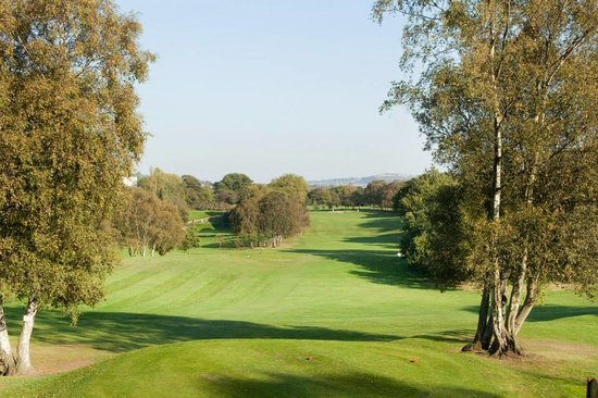 A view of the 9th hole at Shipley Golf Club