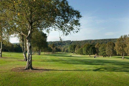 14th hole at Shipley Golf Club