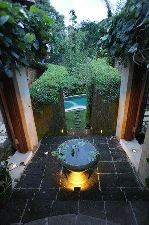 Villa di Abing : View from the gate