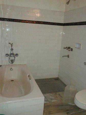Hotel Ambadi : Bathroom
