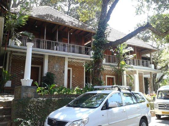 Hotel Ambadi : A part of the hotel ground