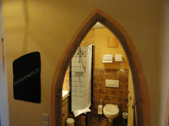 Hôtel Castillo Alcazar : salle de bains