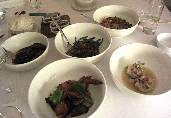 A.Wong : Some of our dishes