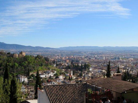 Mirador de San Nicolas: City of Granada