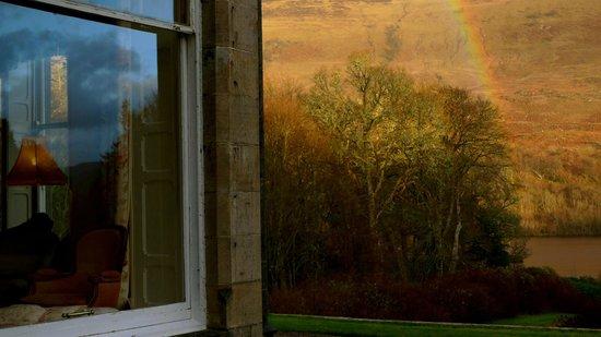 Glengarry Castle Hotel: arc en ciel
