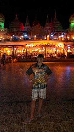 Aqua Blu Sharm : Вид на главный ресторан