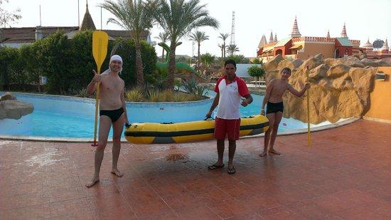 Aqua Blu Sharm : Катание на лодочках