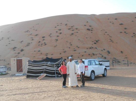 Desert Retreat Camp : La chambre et la salle d'eau