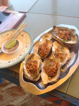 The Shack Vietnam : Tastiest oysters we have ever tried