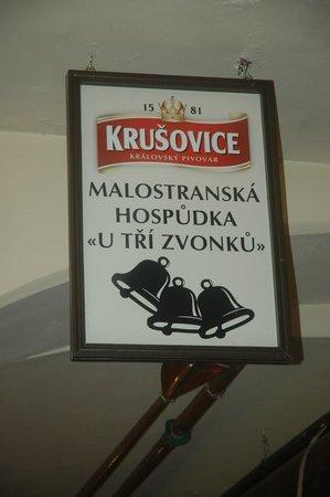 Malostranske hospudky U Tri Zvonku: Thats the name!