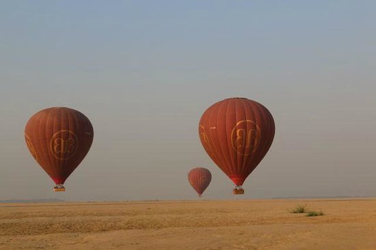 Balloons over Bagan: Beauty in every direction!