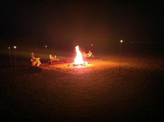 Desert Retreat Camp: Feu de camp
