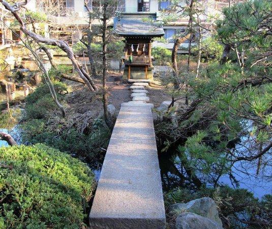 Jindai-ji Temple : пруд