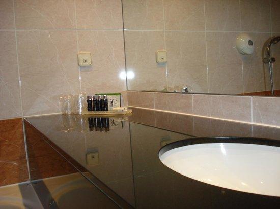 Hotel Barcarola : badkamer