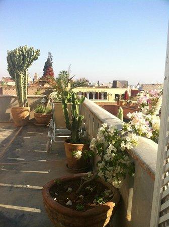 Riad les 2 Portes : Rooftop