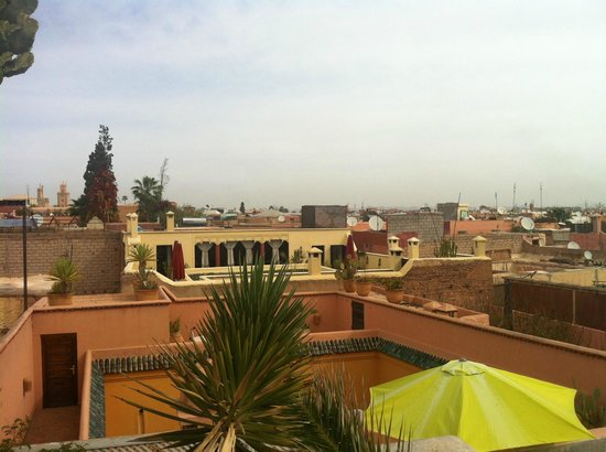 Riad les 2 Portes : View from rooftop