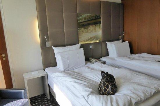 Pullman Fontana Stuttgart : Komfortabele Zimmer