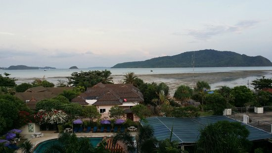 Chalong Beach Hotel and Spa view from 3rd floor