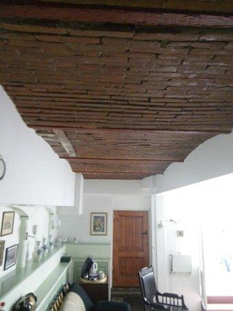 Parkzijde Bed & Breakfast: Detalle de parte del techo