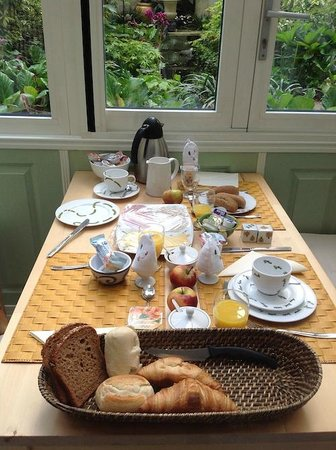Parkzijde Bed & Breakfast : Desayuno