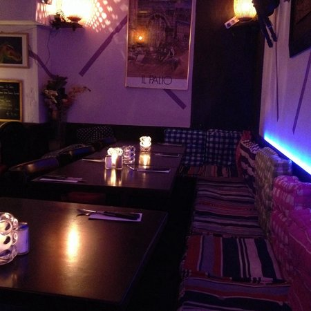 il palio : Gorgeous upstairs area that's cosy & romantic