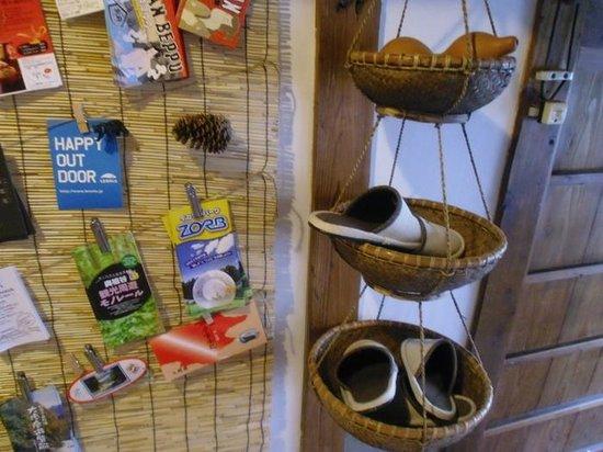 Momonga Village: Tolle Ausstattung und viele Infos im Gasthaus