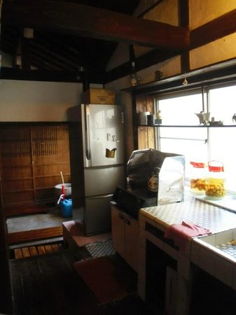 Momonga Village: Die Küche