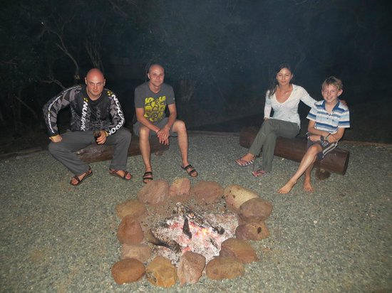 Umkhumbi Lodge: Barbecue